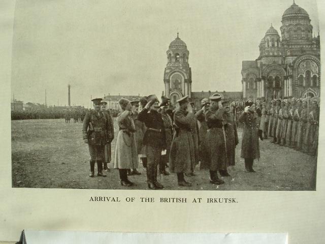 Англичане на параде в иркутске